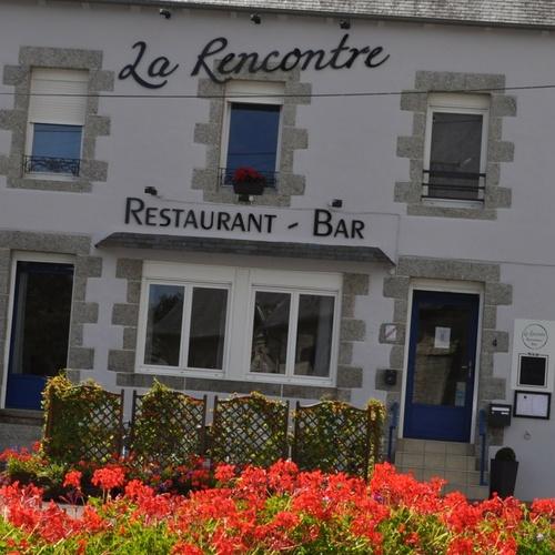 """St Martin des Prés : Restaurant """"La Rencontre"""""""