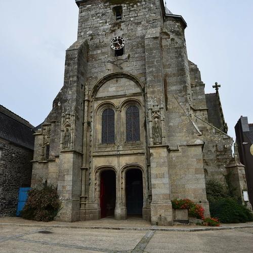 Restauration du clocher de l'église - Corlay