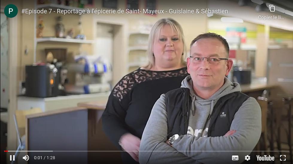 #Episode 7 - Reportage à l'épicerie de Saint- Mayeux - Guislaine & Sébastien 0