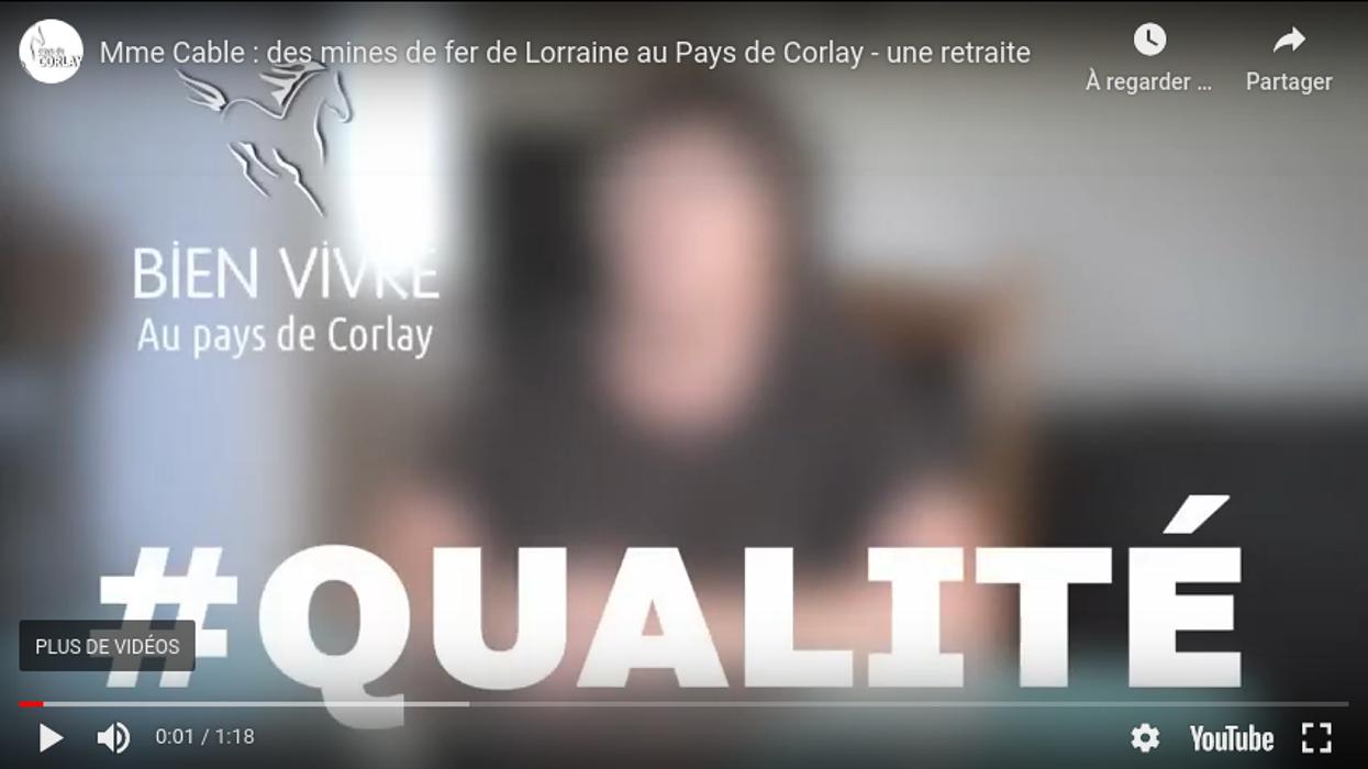 Mme Cable : des mines de fer de Lorraine au Pays de Corlay - 0